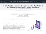Android and iOS Application Development Services