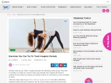 Exercises You Can Try To Treat Irregular Periods