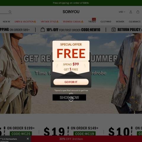 Soinyou Coupon Codes, Soinyou coupon, Soinyou discount code, Soinyou promo code, Soinyou special offers, Soinyou discount coupon, Soinyou deals