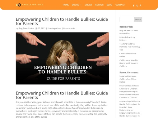 Empowering Children to Handle Bullies: Guide for Parents