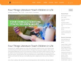 Four Things Literature Teach Children in Life