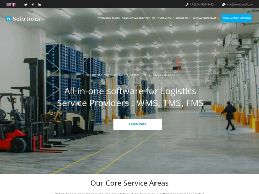 PL Solutions – Logistics and Operations consulting services