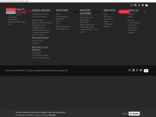 Transform your Business with Microsoft Dynamics 365   Sonata Software