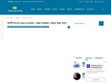 फरारी Ferrari Lyrics in Hindi – Mani Sandhu | Simar Kaur 2021