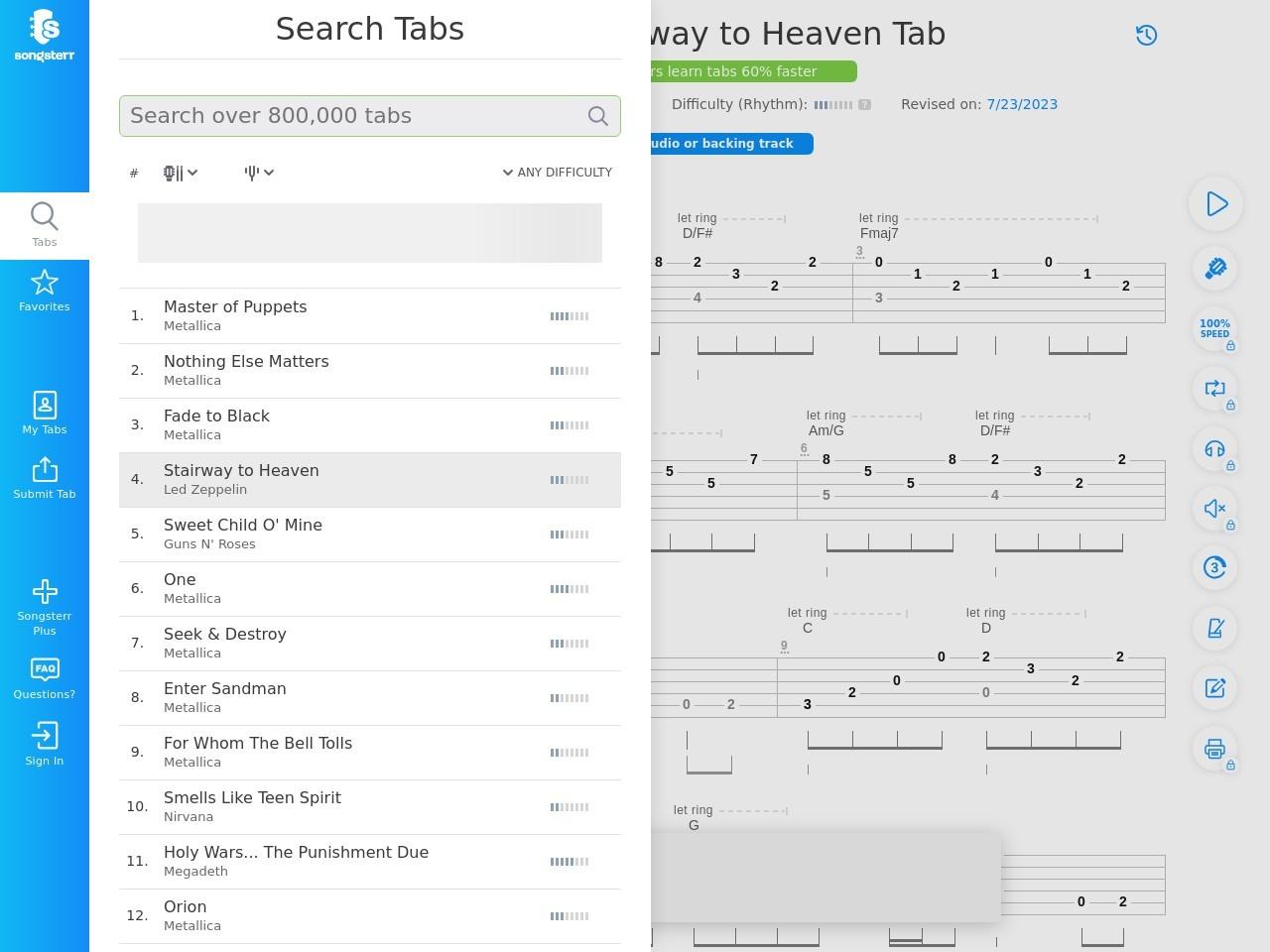 Free Online Guitar Tab For Greensleeves