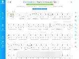 Tears In Heaven By Eric Clapton – Guitar Tabs