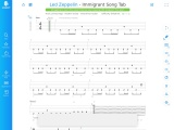 Immigrant Song By Led Zeppelin Guitar Tab