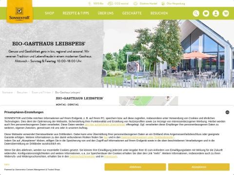 Bio-Gasthaus Leibspeis