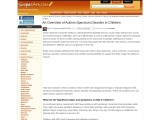 An Overview of Autism Spectrum Disorder in Children by Dr P N Renjen