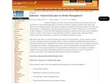 Diabetes: Patient Education for Better Management