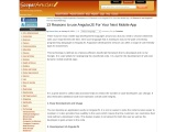 13 Reasons to use AngularJS for your next Mobile App