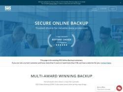 SOS Online Backup Coupon Codes screenshot