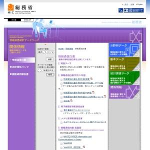 https://www.soumu.go.jp/johotsusintokei/whitepaper/