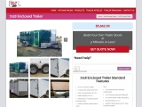7×18 Enclosed Trailers