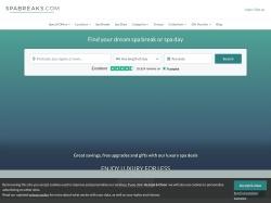 SpaBreaks.com screenshot