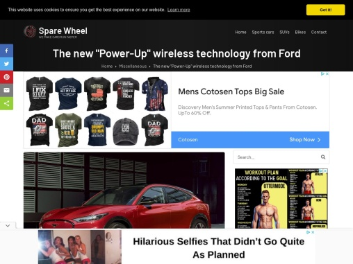 The new Power-Up wireless technology from Ford