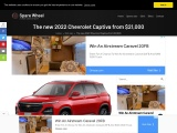 The new 2022 Chevrolet Captiva compact SUV