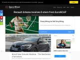 Renault Arkana has received the maximum rating from EuroNCAP