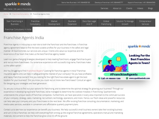 franchise experts in india and Delhi