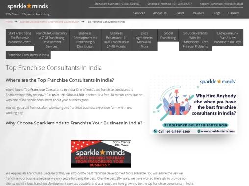 Franchise Consultants India in Delhi