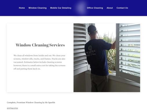 Window Washing Cleaning Services in Parramatta Sydney