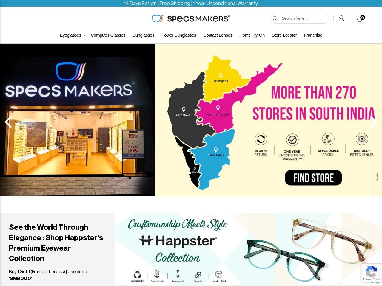 Eyeglass Frames | Specsmakers – Buy Eyeglasses At Best Price Online