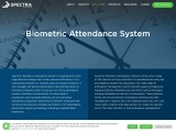 Biometric Time Attendance System Software | Spectra