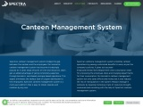 Canteen Management System | Biometric & RFID based Canteen Software | Spectra