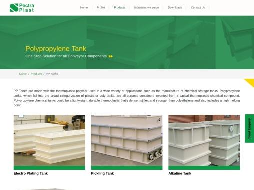 Polypropylene Tank Manufacturers