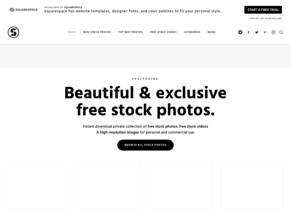 Splitshire - 15 Free Website for Quality Free Copyright Images 2020
