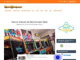 How to choose best table arcade machine