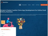Simple & Fastest JustEat Clone App Development for Online Food Delivery Business
