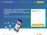 SpotnRides – Gojek Clone App – Multiple Services On A Single Platform