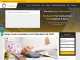 Spray Foam Insulation Cost Calculator UK