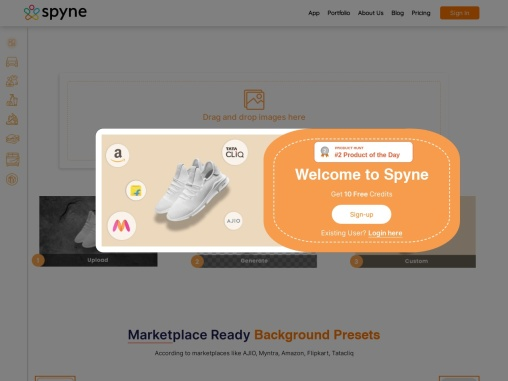 Try Spyne for Shoe Images for Editing