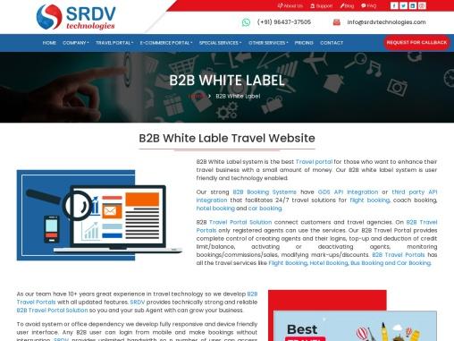 B2B Travel portal Development in India.
