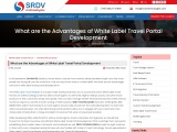 What Are The Advantages Of White Label Travel Portal Development?