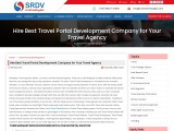 Hire Best Travel Portal Development Company for Your Travel Agency