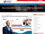 Why choose SRDV for Online Travel Portal Development for Travel Industry?