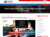 What makes SRDV a Best Travel Portal Development Company?