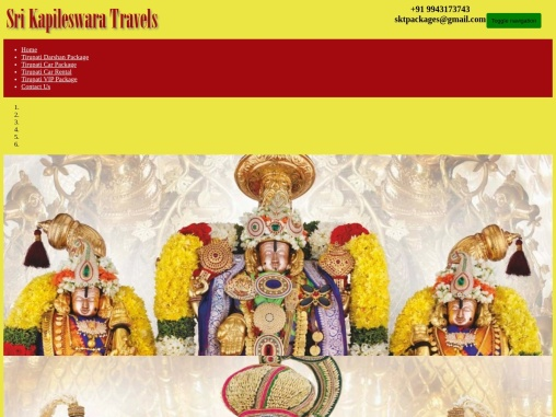 One Day Tirupati Package from Chennai