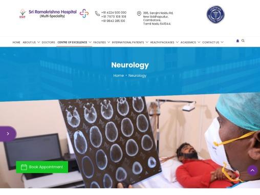 Best Neurologists in Coimbatore | Famous Neurology Hospital | Sri Ramakrishna Hospital