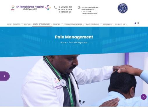 Best Pain Management Hospital   Joints Pain Treatment   Backache Treatment