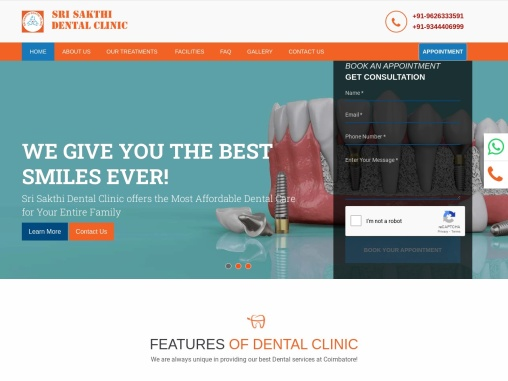 Dental Clinic in Coimbatore, India