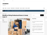 Benefits of Hiring Professional Movers in Sandy Hook CT