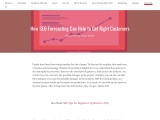 How SEO Forecasting Can Help to Get Right Customers