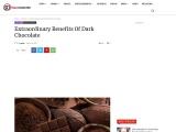 Health Advantages Of Eating Dark chocolate   stackumbrella