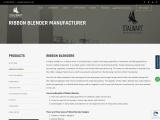 Ribbon blender mixer manufacturer in Mumbai