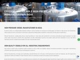 Pressure vessel manufacturer in Ahmedabad