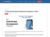 10 Top Android App Development Companies in India
